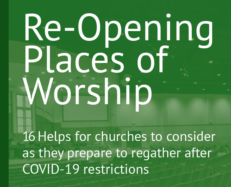 Re-Opening Places of Worship after COVID-19